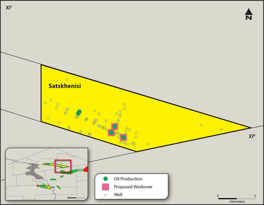 Satskhenisi field map