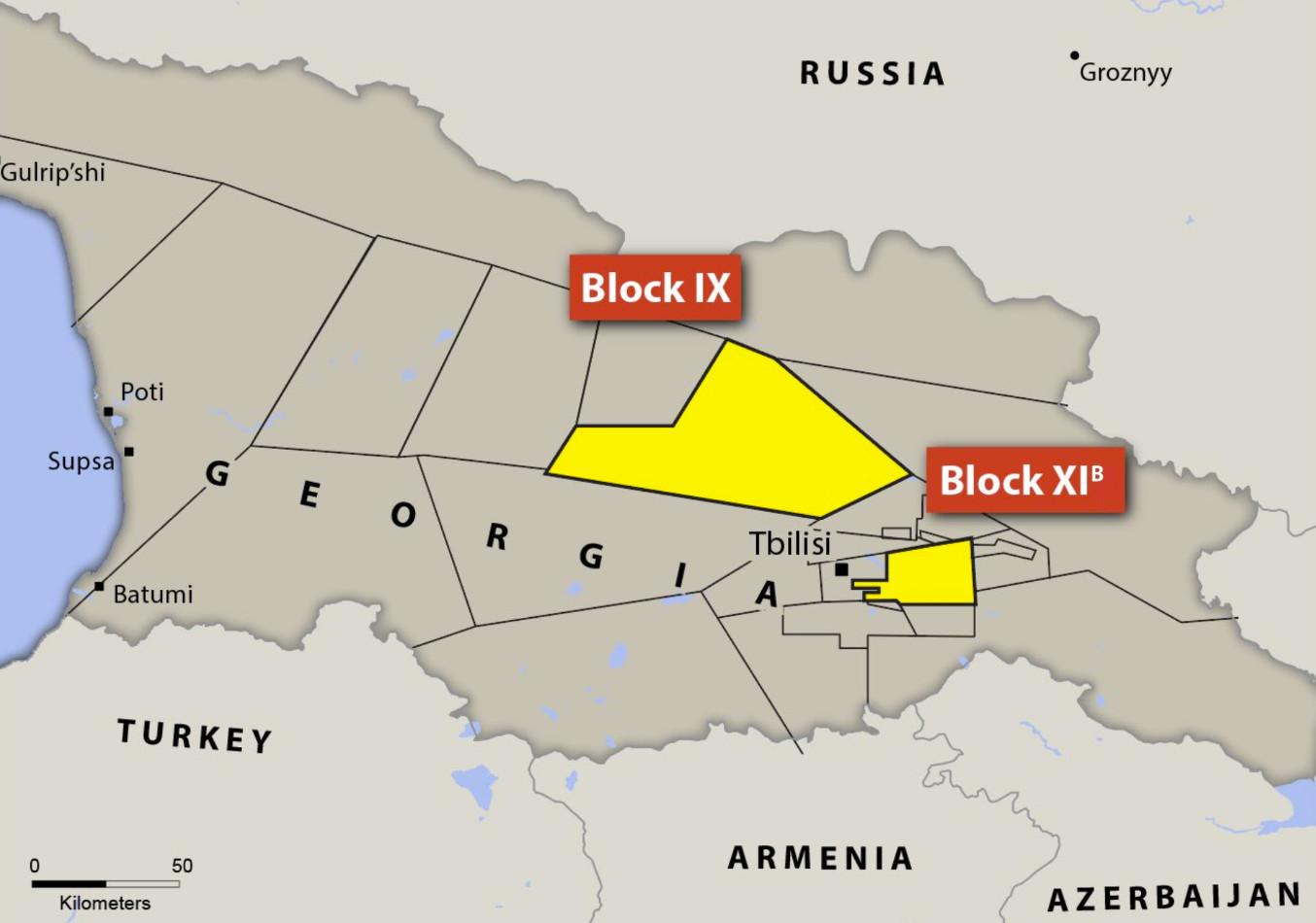 Location of Blocks XIB and IX